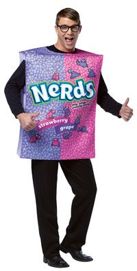 Nerds Adult Costume - Funny Costumes