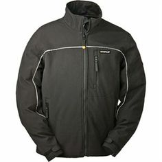 Caterpillar Waterproof Breathable Soft Shell Jacket with Storm Blocker Technology Men's Coats And Jackets, Line Jackets, Nylons, The North Face, Soft Shell, Spandex, Caterpillar, Mens Sweatshirts, Work Wear