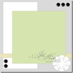 This is a card sketch but I see a beautiful scrapbook layout!  Can't wait to try
