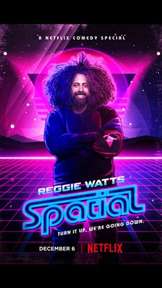 Reggie Watts: Spatial | Official Trailer [HD] | Dec. 6 Netflix