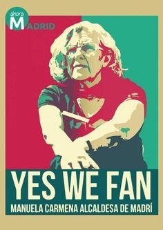 'Yes we fan'