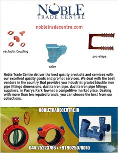 Nobletradecentre is one of the best kirloskar motors and kirloskar electric motors dealers provides Kirloskar motors in Chennai, Parrys and Broadway with quality positive displacement motors, centrifugal pumps and many products like Kirloskar valves, victaulic coupling, pvc steps as well.