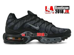 1c4a270c14 Nike Air Max Plus Jacquard 2018 - Chaussures Nike TN Prix Pour Homme Noir  845006-003