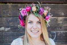 Happy first day of spring!  @Shannon Mahoney is sharing how to make DIY Flower Crowns on #BestFriendsForFrosting