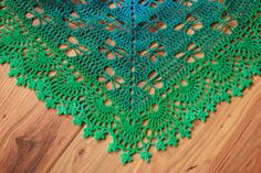Butterfly Stitch Prayer Shawl ~ free pattern ᛡ