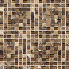 "Stone Radiance 5/8"" x 5/8"" - Butternut Emperador Blend By SouthCypress.com"