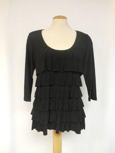 Stylish ruffle blouse from Pretty Woman – Silhouette Fashion Boutique Woman  Silhouette e3c2b1777
