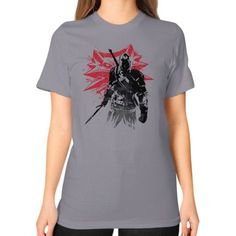 The Witcher Sumi Unisex T-Shirt (on woman)