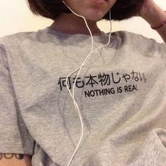 shirt grey indie hipster japanese chinese t-shirt grey t-shirt women korean style sweater japanese fashion grey sweater asian korean fashion japan tattoo Gray Aesthetic, Korean Aesthetic, Japanese Aesthetic, Aesthetic Clothes, Aesthetic Shirts, Aesthetic Grunge, Beauty And Fashion, Trend Fashion, Look Fashion