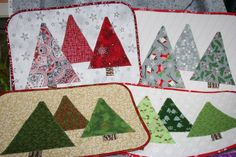 Christmas Tree Placemats 12/02 @ 9:30-12:30 or 1:00-4:00   Kit Available; Class Fee: $15