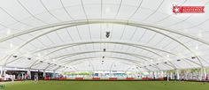 Copyright Wide Span Fabric Structures revolutionising the bowling industry at Mooloolaba Bowls Club East Cessnock Bowling Club. Shell Structure, Membrane Structure, Modular Structure, Fabric Structure, Roof Structure, Industrial Fabric, Tensile Structures, Fibreglass Roof, Modern Roofing