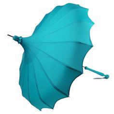 Bella Umbrella Blog - Elegance of Yesterday Re-Imagined for Today - The Aqua Bella Umbrella Pagoda is here!
