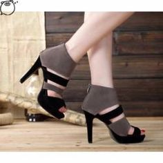 836fb8a2bc Beautiful Trendy Open Toe Ankle Heels Stylish Shoes For Women, Trendy  Shoes, Spring Heels