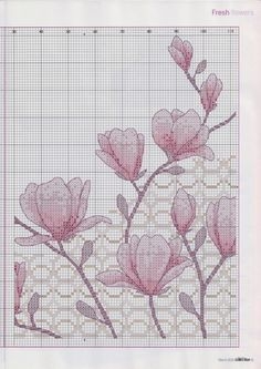 ru / Фото - Cross Stitch Collection 194 март 2011 - tymannost of a flower Dragon Cross Stitch, Xmas Cross Stitch, Butterfly Cross Stitch, Cross Stitch Pillow, Just Cross Stitch, Cross Stitch Flowers, Cross Stitch Kits, Free Cross Stitch Charts, Cross Stitch Borders