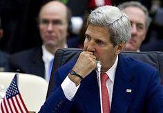 14-Oct-2013 13:39 - KERRY EN BRAHIMI WILLEN SNEL CONFERENTIE OVER SYRIË. De Amerikaanse minister van buitenlandse zaken John Kerry en internationaal Syrië-gezant Lakhdar Brahimi willen zo snel mogelijk een conferentie organiseren om een overgangsregering voor Syrië te vormen.