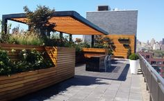 Rooftop Gardens Terraces New York City