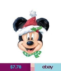 Party Supplies Christmas Party - Christmas Mickey Mouse Supershape Foil  Balloon  ebay  Home   Garden 6fa8dde35b