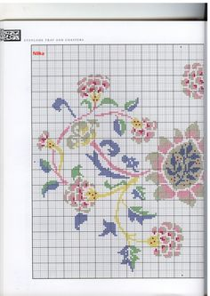 Gallery.ru / Фото #36 - The art of William Morris in cross stitch (Barbara Hammet) - vihrova