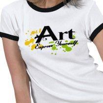 Art Teacher T-Shirts - Art Teacher T-Shirt Designs Art Teacher Outfits, Teacher Clothes, Cool T Shirts, Tee Shirts, Concerning Hobbits, T Shirt Image, Painted Clothes, Tee Shirt Designs, School Life
