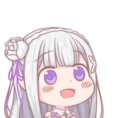 Re:Zero kara Hajimeru Isekai Seikatsu Anime Chibi, Kawaii Chibi, Fanarts Anime, Cute Chibi, Kawaii Anime Girl, Anime Art Girl, Manga Art, Manga Anime, Rem Re Zero