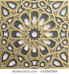 Find Seamless Islamic Pattern stock images in HD and millions of other royalty-free stock photos, illustrations and vectors in the Shutterstock collection. Mosaic Designs, Geometric Designs, Geometric Art, Islamic Art Pattern, Pattern Art, Arabesque, Arabian Pattern, Bank Interior Design, African Tribal Patterns