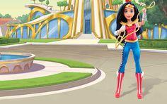 DC Super Hero Girls Wonder Woman Doll.