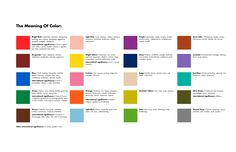 Color meanings meaning of colors and candle magic on pinterest