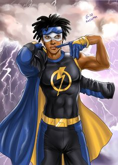 Static Shock by ~Autumn-Sacura on deviantART