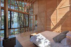 Спальня с видом на Тихий океан.