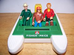 Fisher-Price Adventure People Action Figures #vintage #toys #pontoonboats