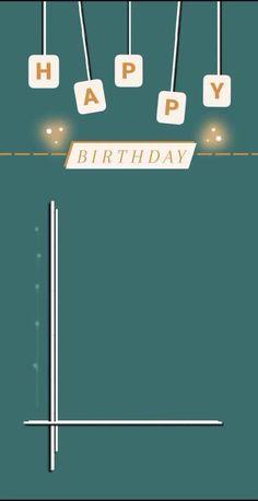 Happy Birthday Frame, Happy Birthday Posters, Happy Birthday Quotes For Friends, Happy Birthday Wallpaper, Happy Birthday Video, Birthday Posts, Birthday Frames, Birthday Captions Instagram, Birthday Post Instagram