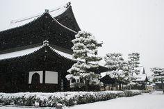 雪の建仁寺 (by nobuflickr)