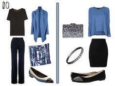 Black/Blue--A Femme d'Un Certain Age: A Weekend Travel Mystery