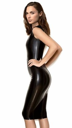 Gal Gadot in latex, if only! Gal Gadot in latex, if only! Looks Pinterest, Mode Latex, Gal Gardot, Chica Fantasy, Hobble Skirt, Gal Gadot Wonder Woman, Latex Dress, Latex Girls, Latex Fashion