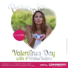 Make sure to enter our Valentine's Day Pucker Up competition on Instagram!