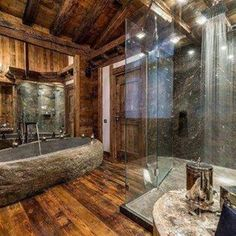 Chic shower #chic #Chalet #ski #skiing #snowboarding #skiseason #bathroom #interiors #decor #luxurylife #luxurytravel #luxury #travel #holidays #travel #winterbreak #winter #snow #valdisere #Courchevel #lesgets #Meribel