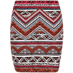 Lilly Tonal Tribal Print Mini Skirt (€7,51) ❤ liked on Polyvore featuring skirts, mini skirts, short skirts, tribal mini skirt, mini skirt, short mini skirts and tribal skirt