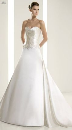 White One Bridal Gown Style - 6222