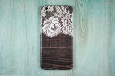 Lace iPhone 5 Case Wood Print Phone iPhone 5c Cutest iPhone 4s Vintage lace pattern Galaxy S3 iPhone 6 Lace iPhone 6 Plus Case Galaxy S5 by CupidsCases on Etsy