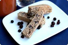 Wild Blueberry Biscotti (Whole Wheat)