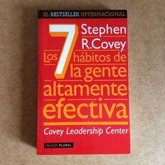 LOS 7 HÁBITOS DE LA GENTE ALTAMENTE EFECTIVA Spanish Book COVEY ISBN 8449304326 #Textbook