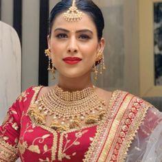 Beautiful Bollywood Actress, Beautiful Actresses, Beautiful Girl Image, Beautiful Bride, Nia Sharma Instagram, Famous People Birthdays, Hollywood Actress Photos, Indian Models, Hair Color For Black Hair