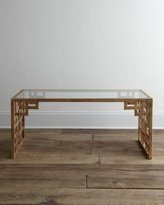 Lovelace Coffee Table at Horchow.
