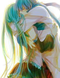 Vocaloid : miku x kaito