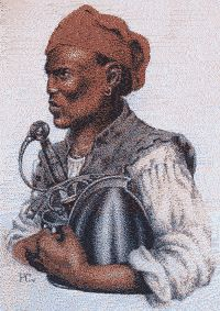 Estevanico, an African Moor conquistador landed in N. America in 1527 (stuff they don't teach in world history)