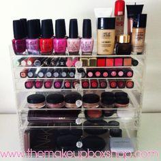 Ultimate Makeup Storage. www.themakeupboxshop.com