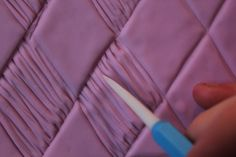 Woven Diamond Texture - Tutorial - Cake Central