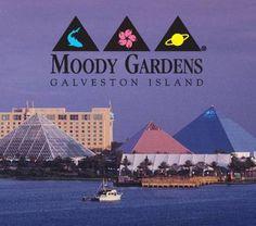 Moody Gardens, Galveston Island,Texas