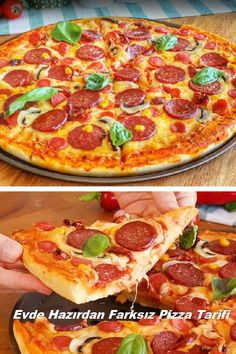 Homemade Pizza Recipe From Home Ready – … – Pizza Ideas Pizza Recipes, My Recipes, Curry Pizza, Pizza Rapida, Turkish Pizza, Slow Cooker Pasta, Pizza Kitchen, Healthy Pizza, Health Breakfast