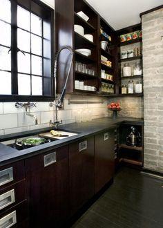 Industrial Country Kitchen Design